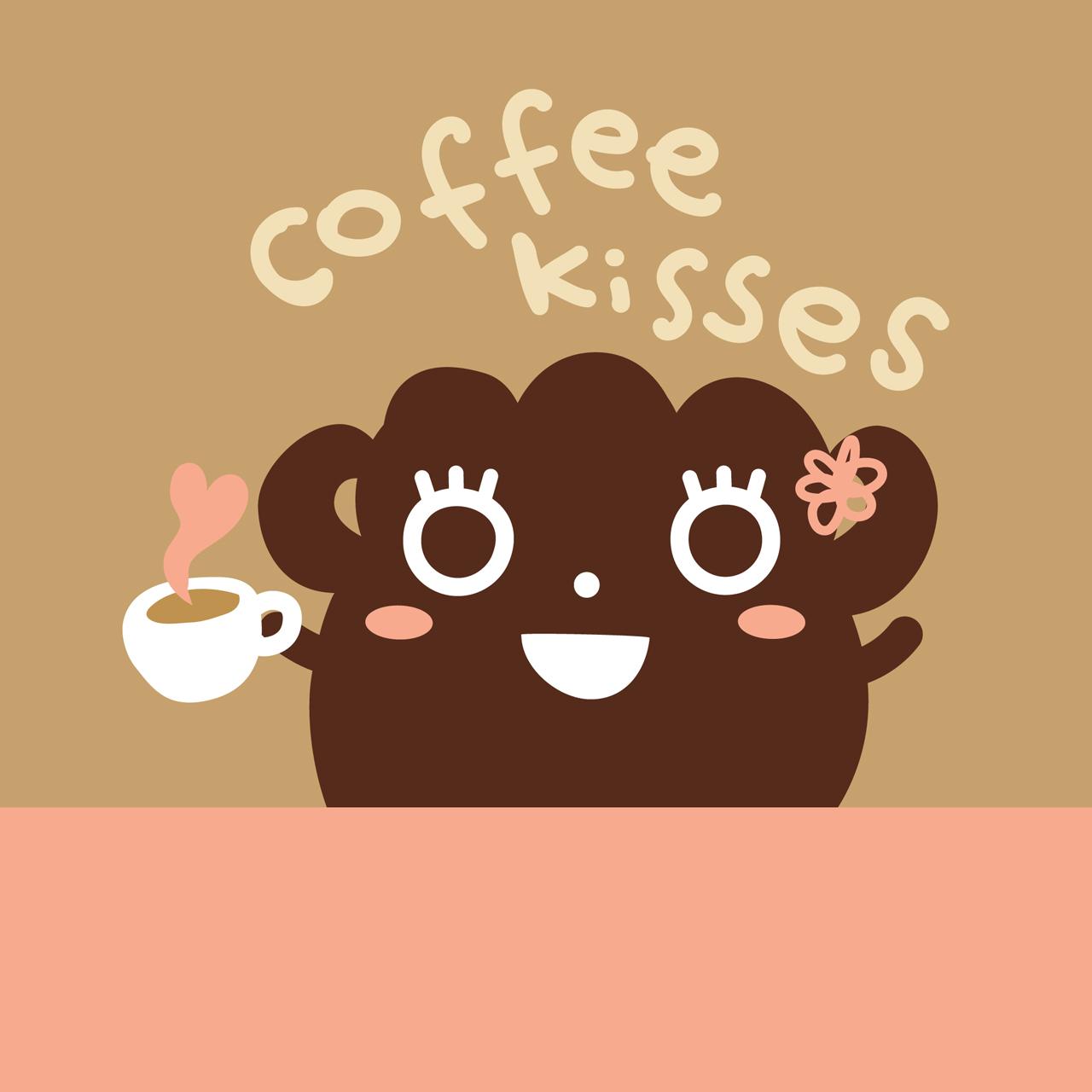 Dustykid Coffee Kisses