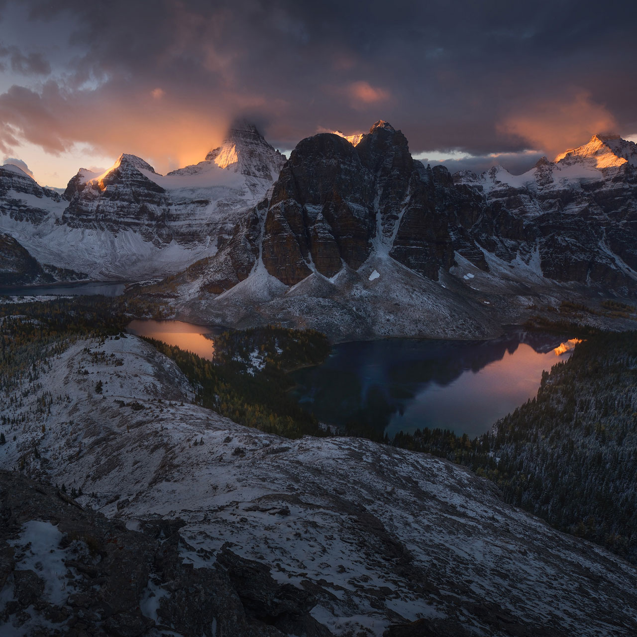 enrico fossati crowned by fire
