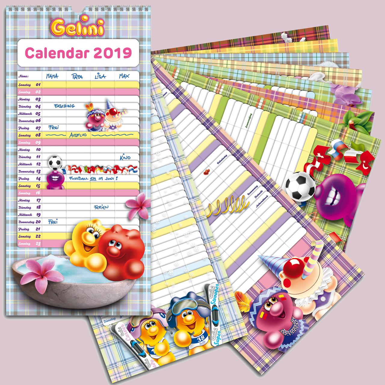 Gelini Calendars