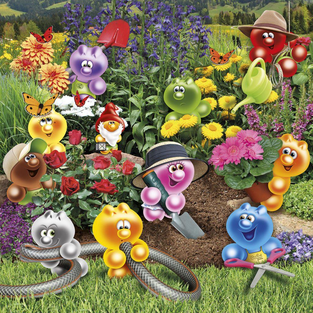 gelini in the garden