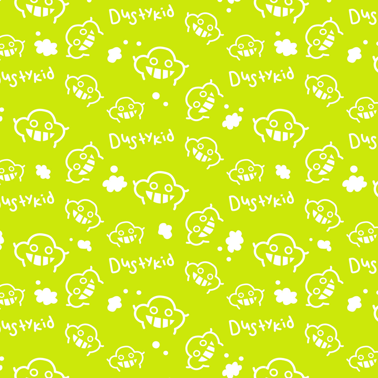 dustykid pattern green