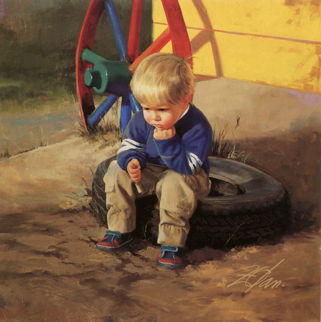 Donald Zolan Painter of Children