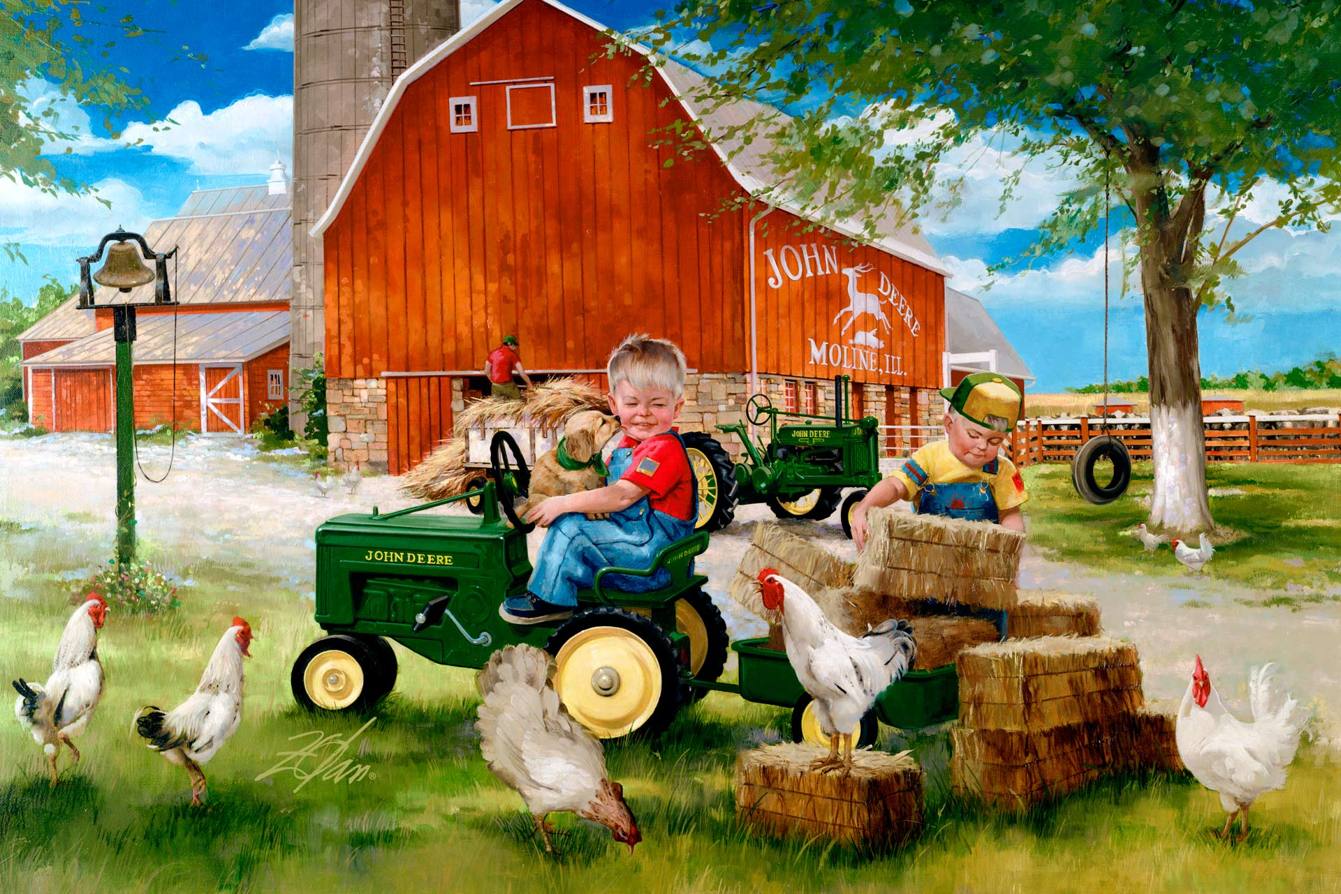 donald zolan growing up country