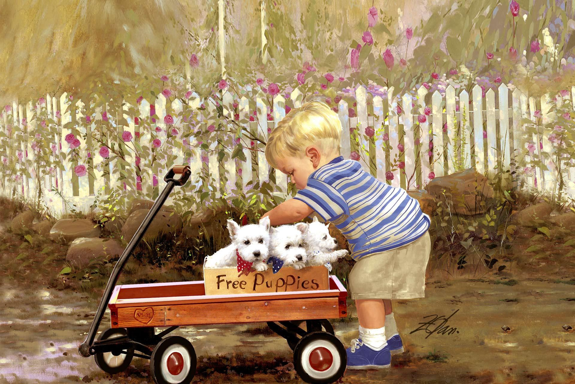 donald zolan free puppies
