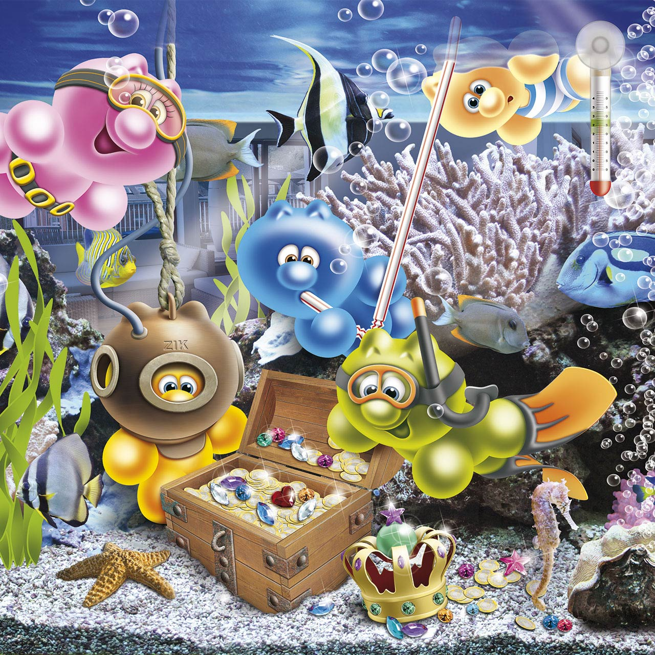 gelini character fishtank