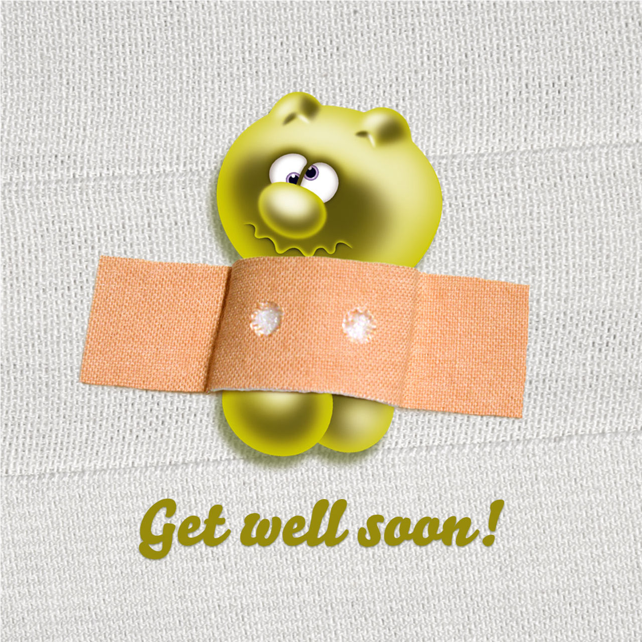gelini character get well soon