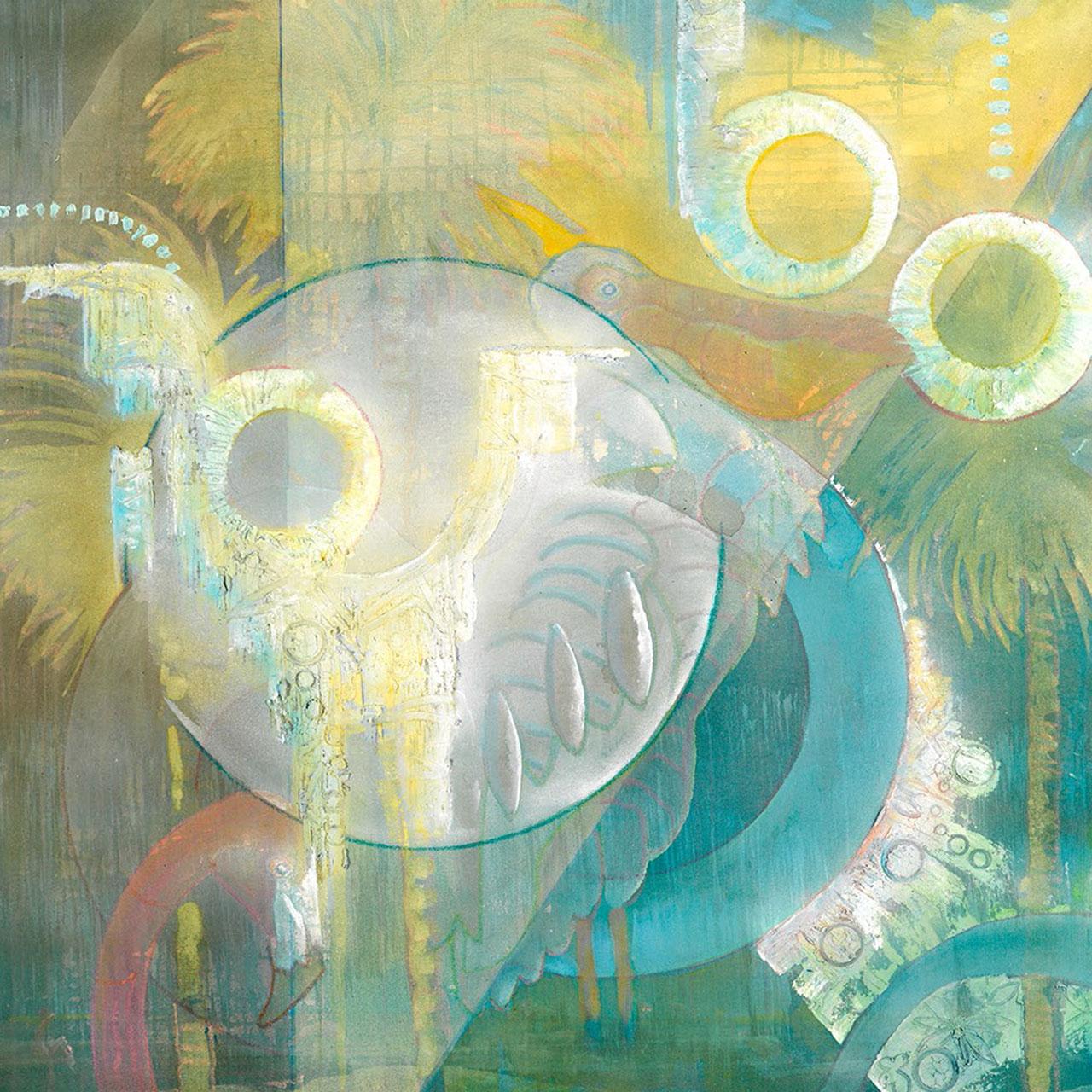 vito loli abstract painting