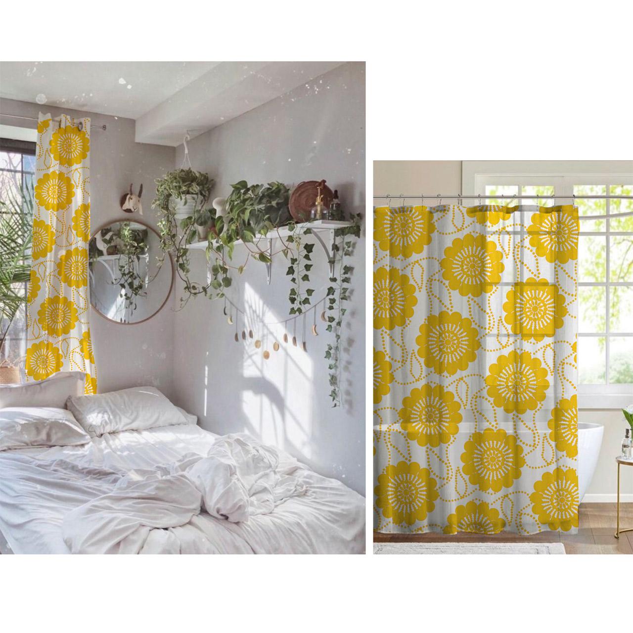 ivana helsinki yellow curtains