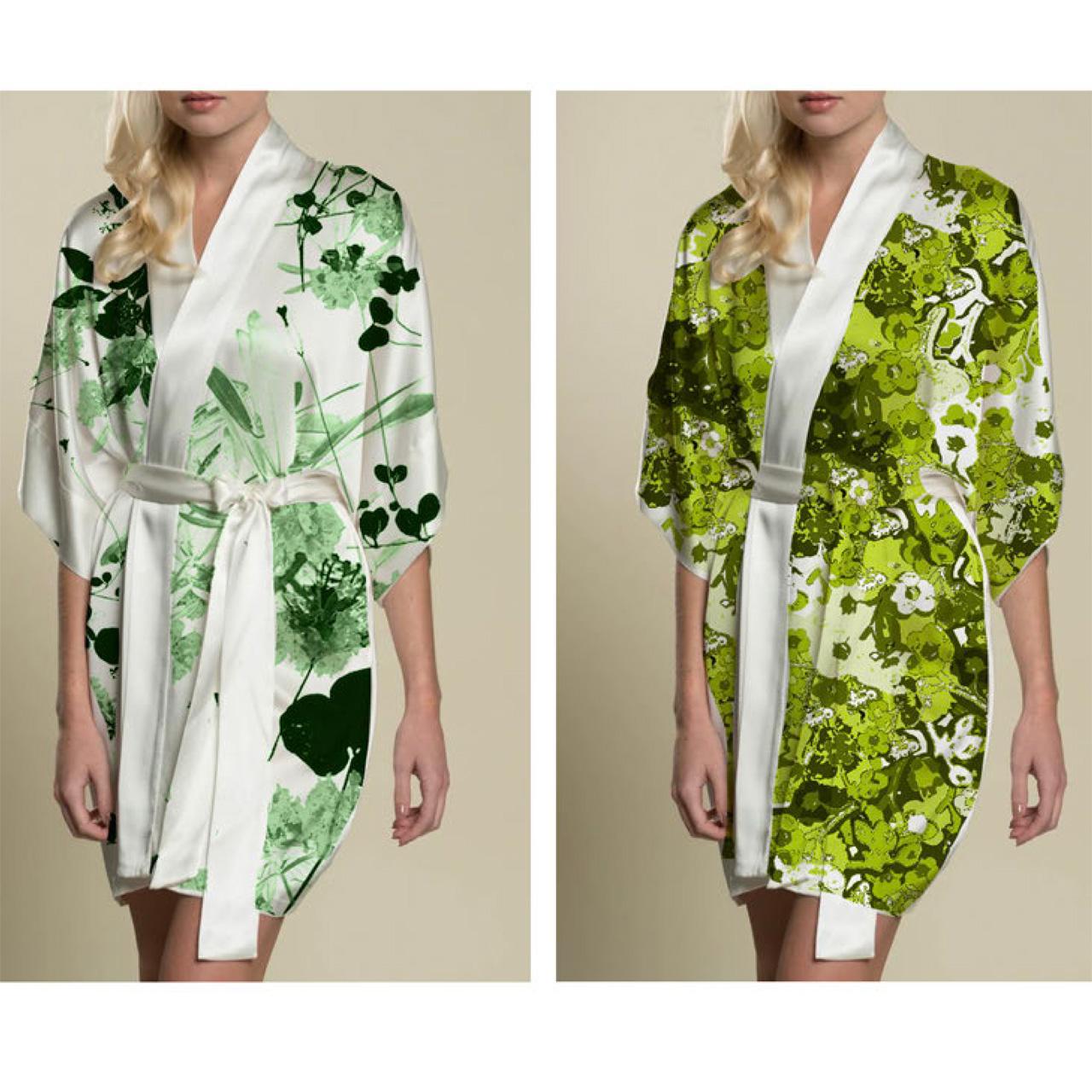 ivana helsinki bathrobes green