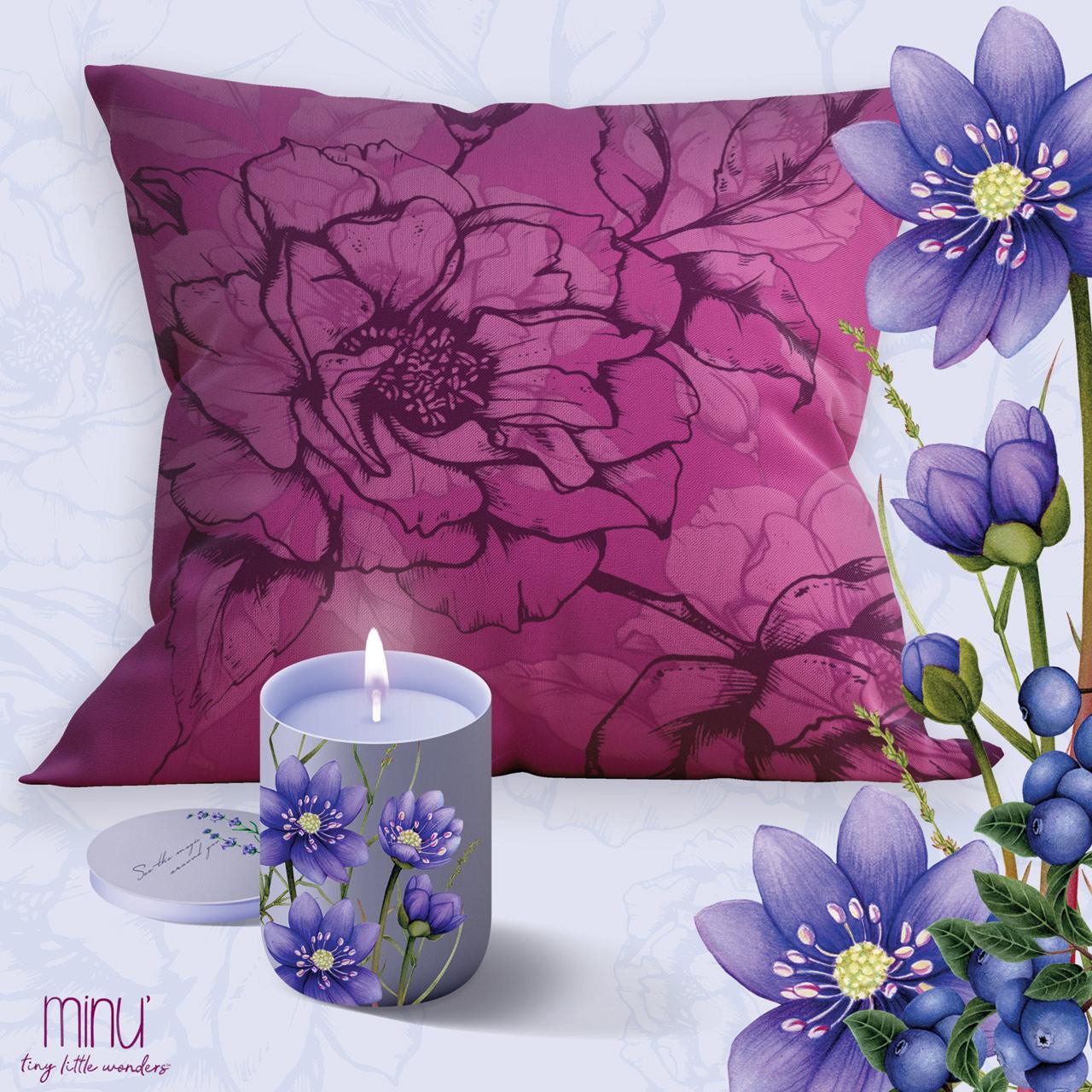 yume pillows home wildberry