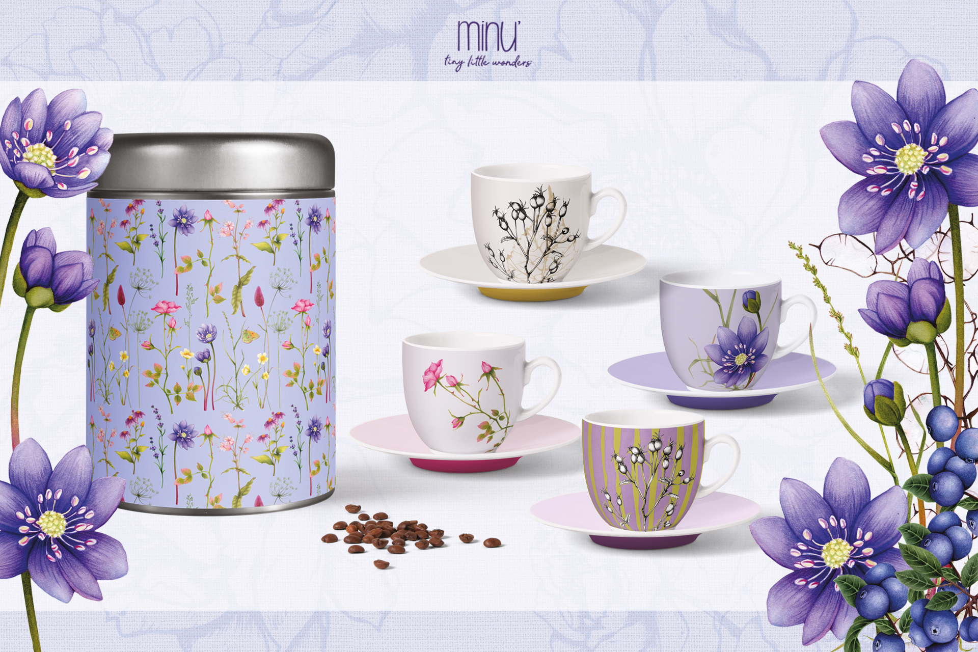 Yume wild berry collection home