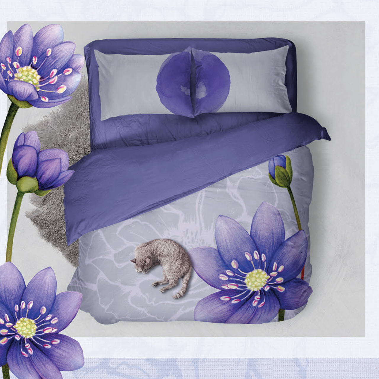 yu.me bed and bath collection