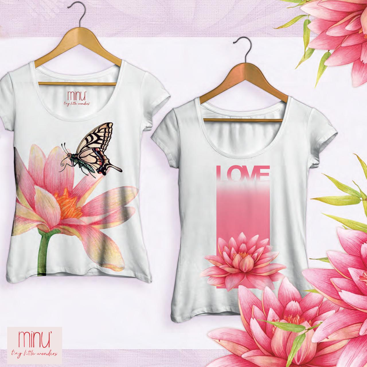 Yu.me floral t shirts