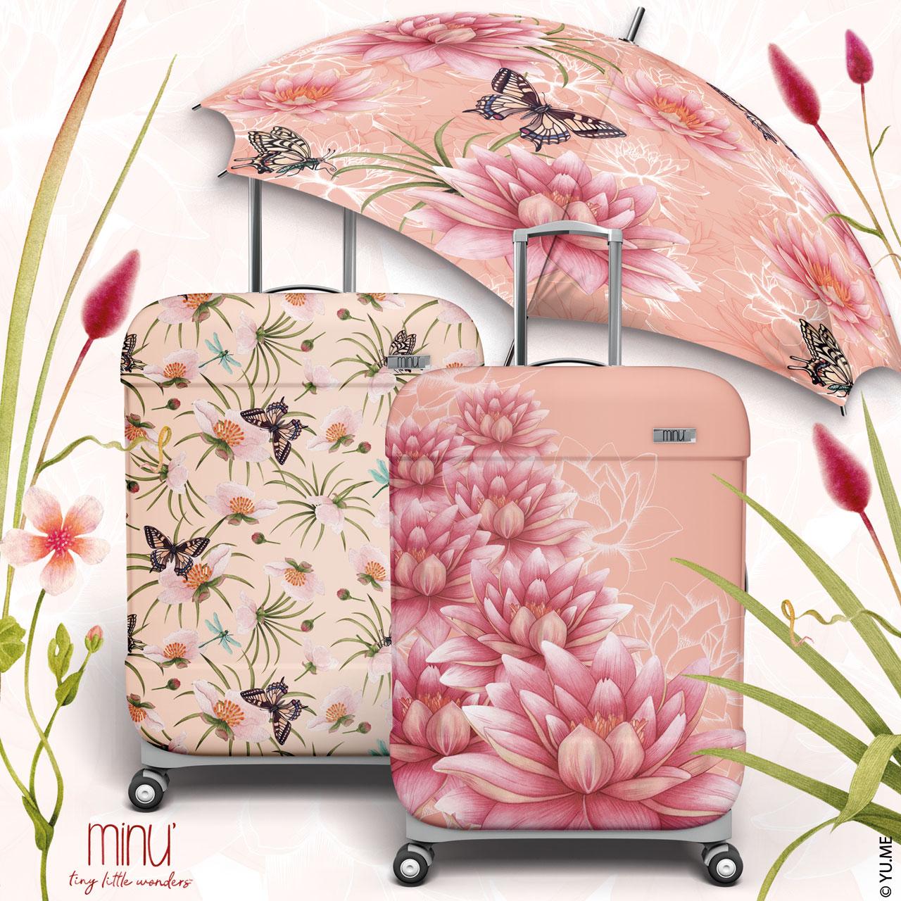yu.me nature inspired luggage