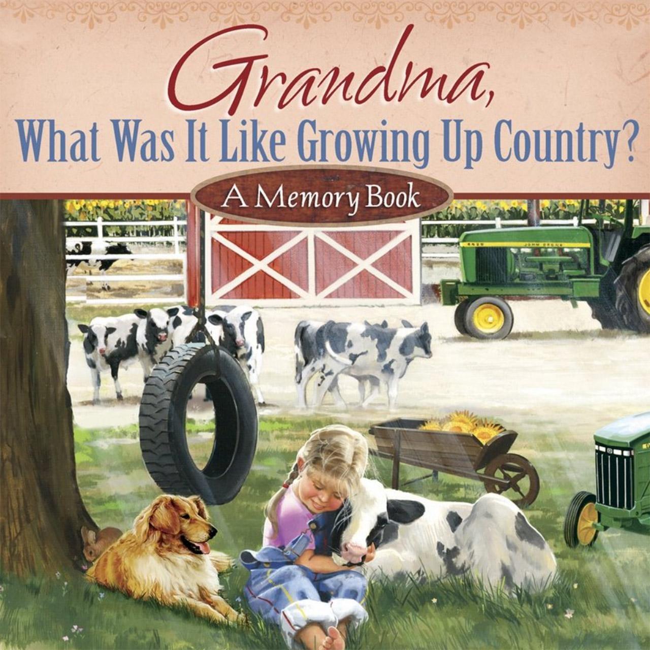 Grandma Memory Book for Kids