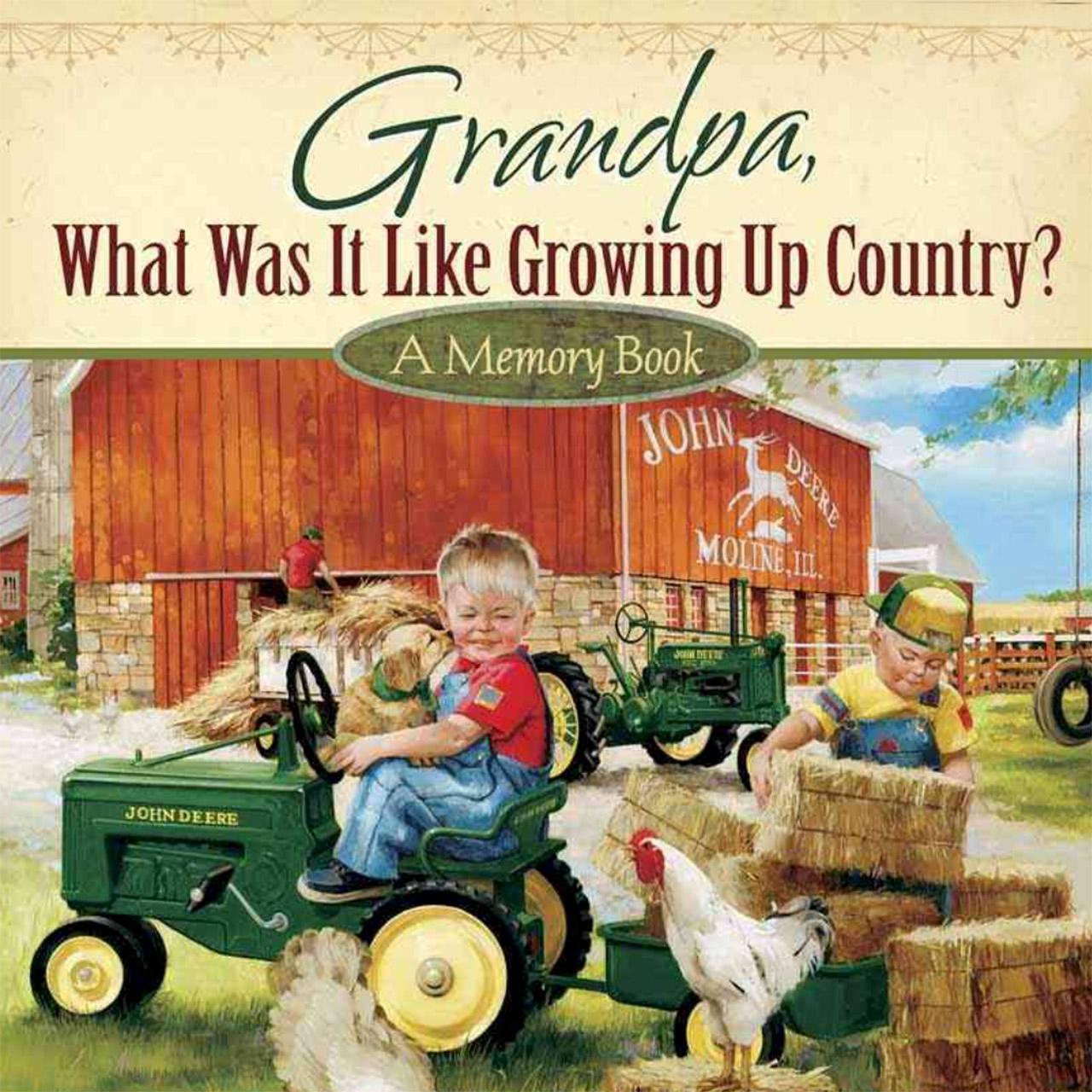 Kid's Memory Book Grandpa