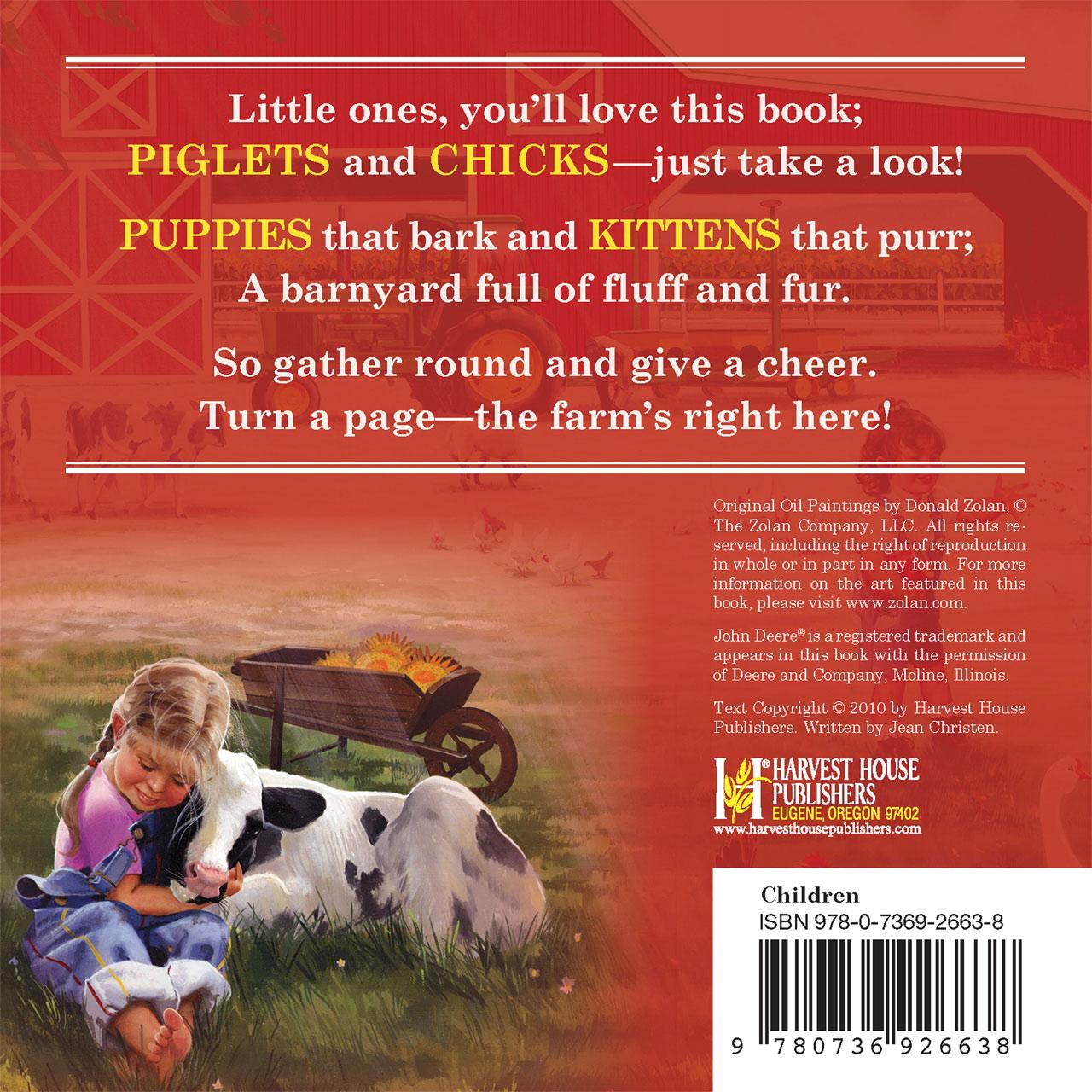 Kids on the Farm Book Zolan