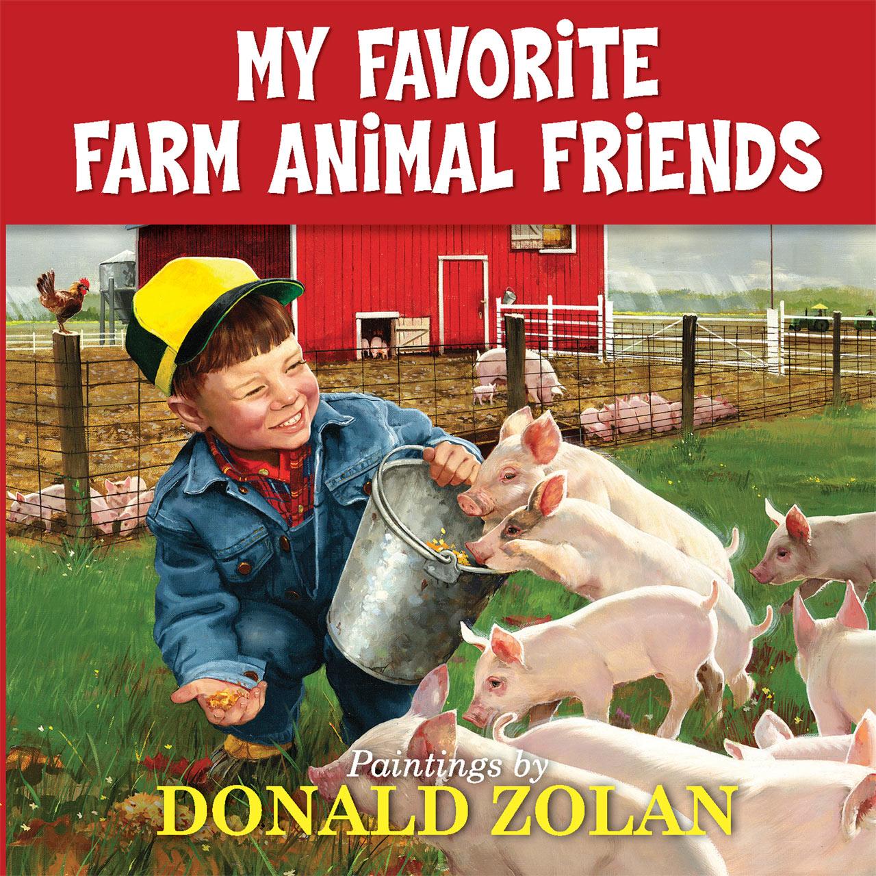 Donald Zolan Farm Animal book