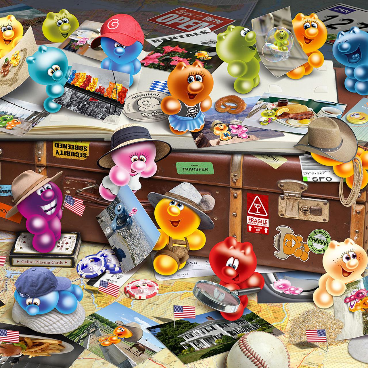 Gelini Puzzle Art