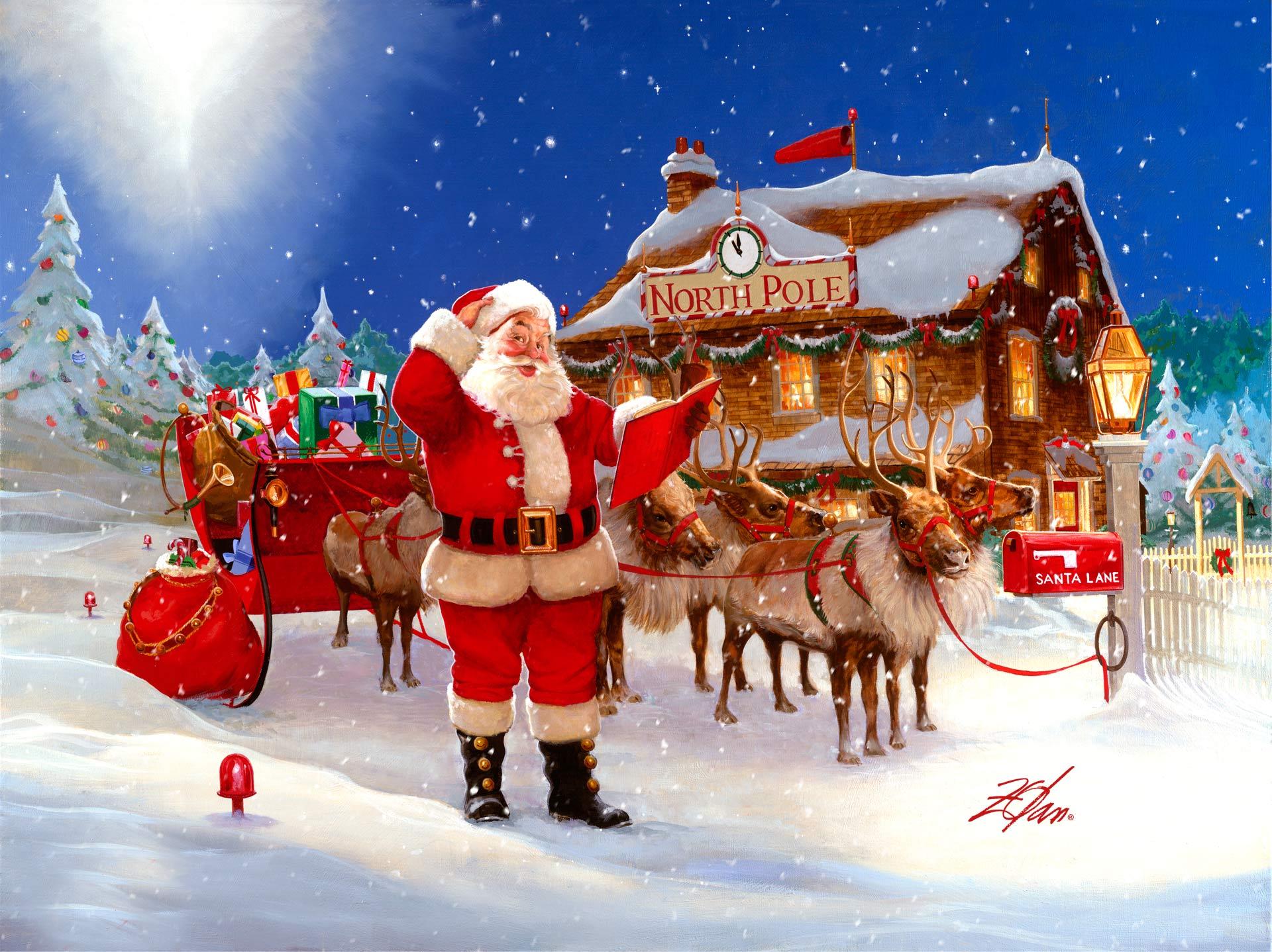 Zolan Santa Holiday Collection