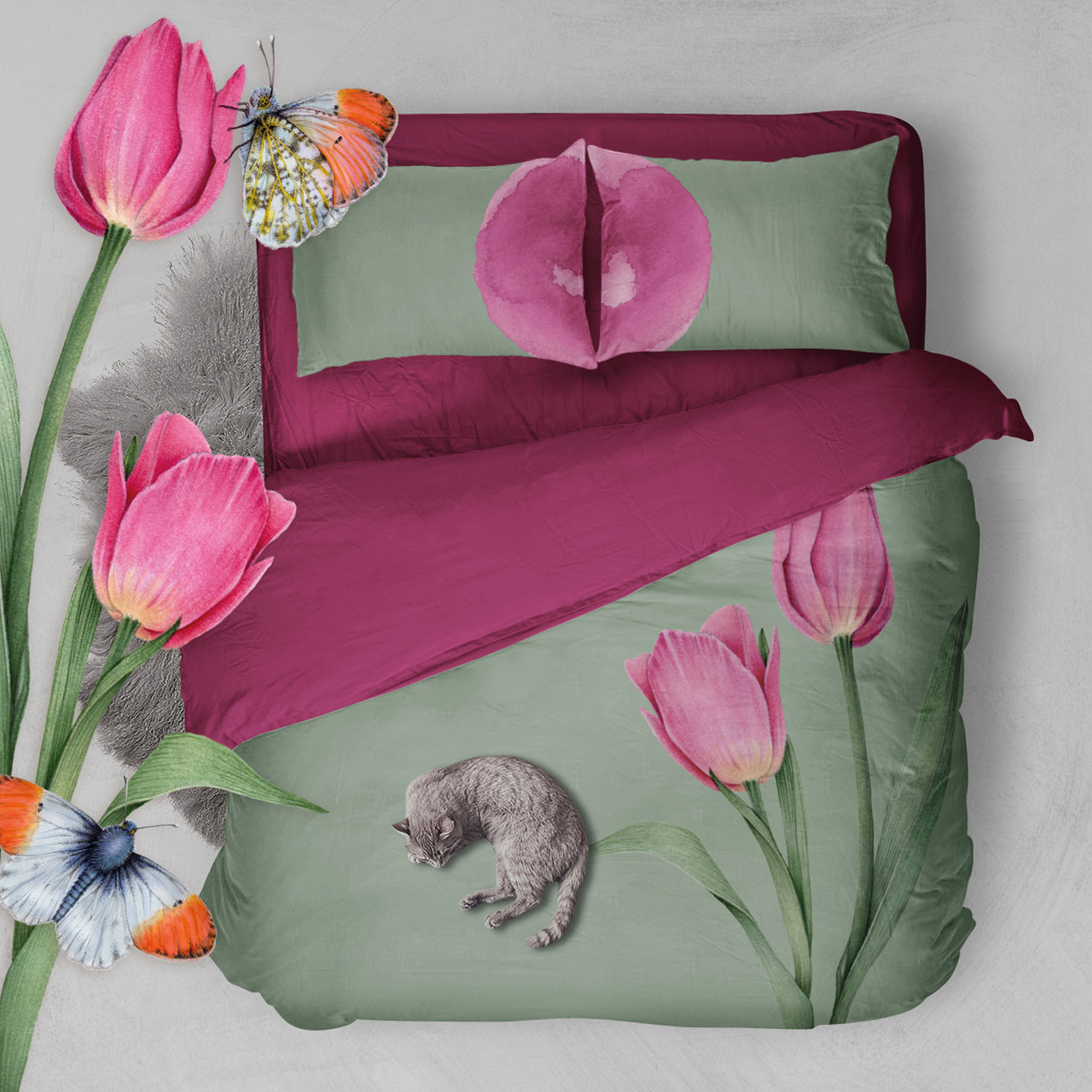 Blooms of Love Bedding Collection