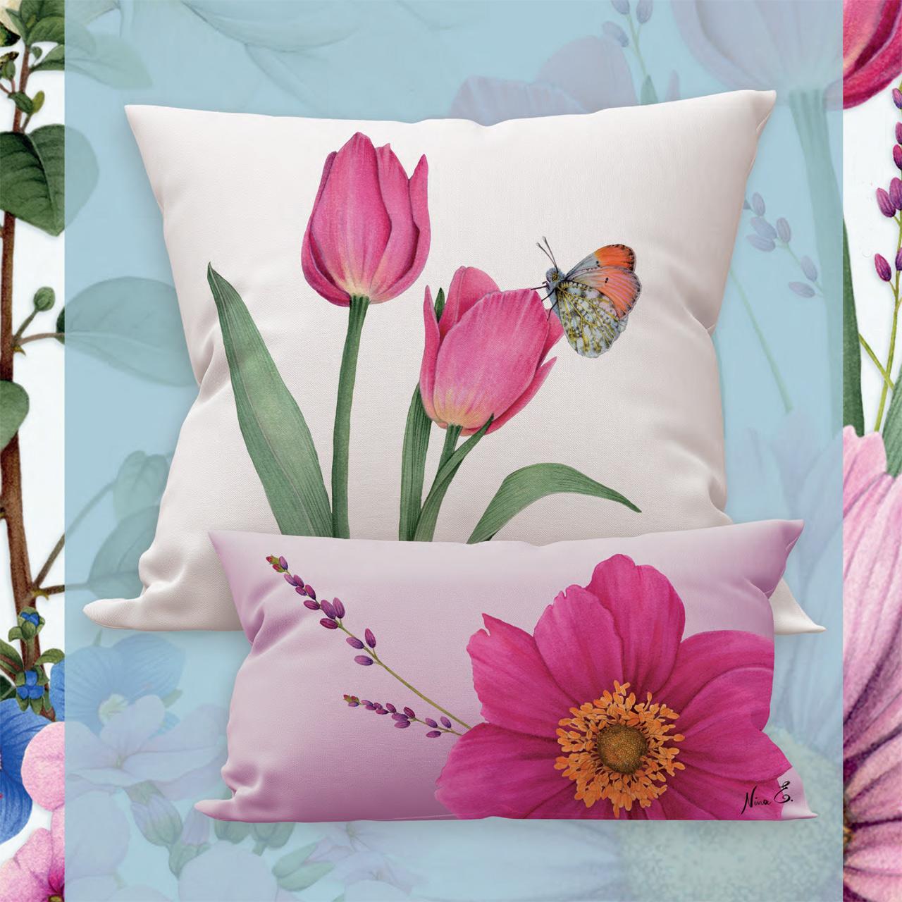yu.me home collection pillows